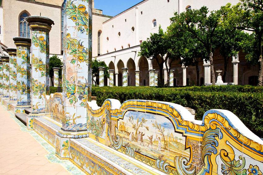 Naples Italy day tour - St. Chiara Monastery